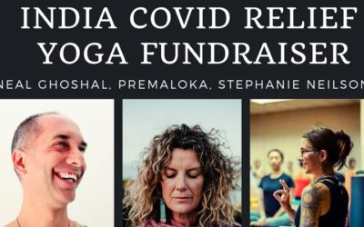 Covid Relief for India Yoga Fundraiser, Sunday 23rd May, Waiheke Island